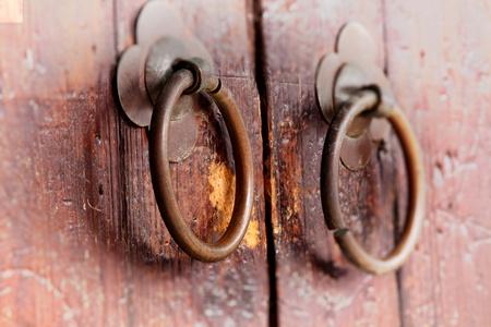 Old door knocker Stock Photo - 12018412