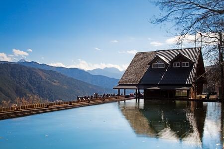 Snow Mountain trailhead huts, Taichung, Taiwan