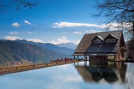 雪山登山小屋、台中、台湾