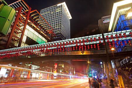 taipei: Night of Taipei city, Taiwan