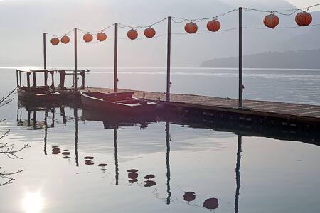 Chiang Kai Shek Pier, Sun Moon Lake, Nantou, Taiwan