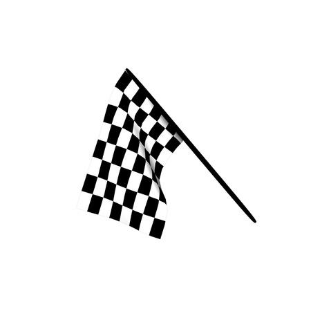 Checkered flags photo