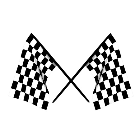 checkers: Checkered flags Stock Photo
