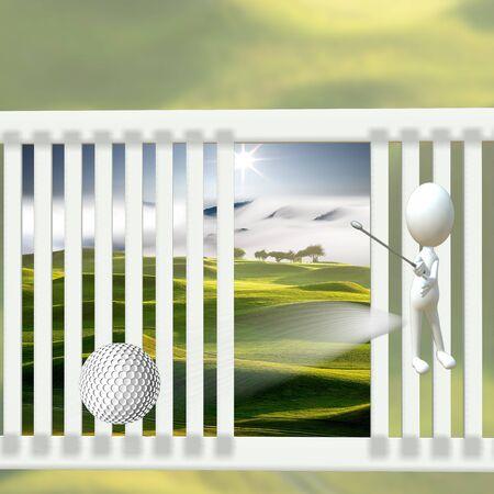 let s: Hi, Let s golf