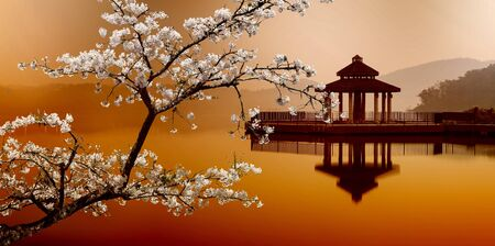 SUN MOON LAKE, Taiwan Stock Photo - 17501467