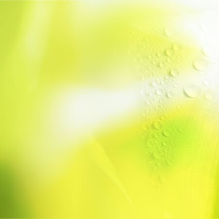 light color with water drop background  photo