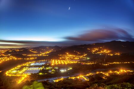 Night view of taipei city, Taiwan for adv or others purpose use Stock Photo - 17592109