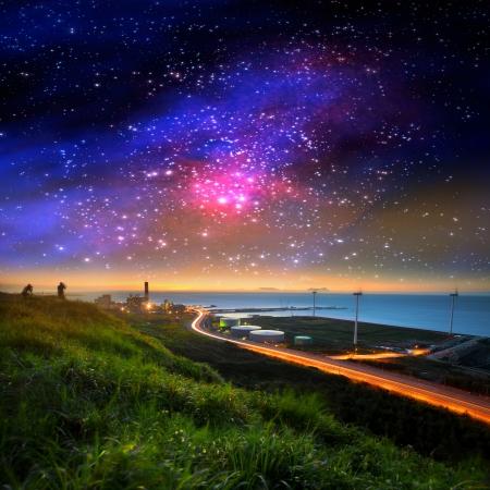 Adv の素敵な銀河や他目的使用 写真素材