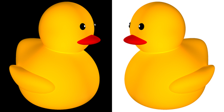 Rubber duck icon for adv or others purpose use photo