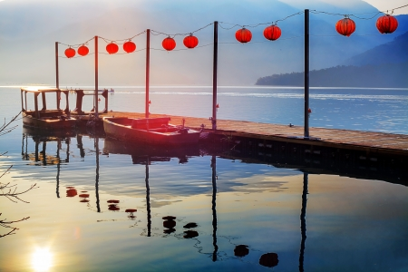 Sun Moon Lake in Taiwan photo