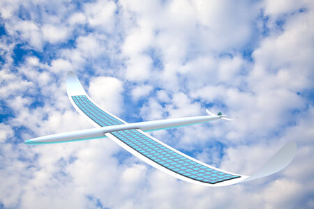alternativ: Solar energy airplane