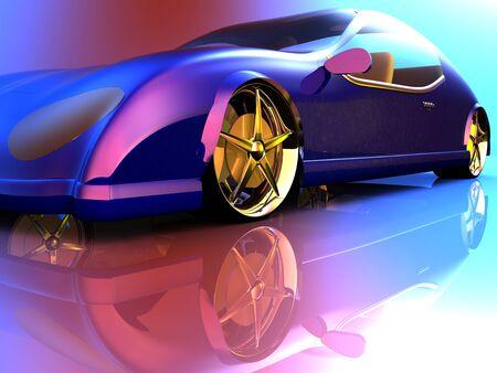 일반적인 개념의 자동차를 비 브랜드 스톡 콘텐츠
