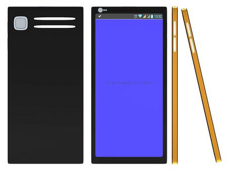 cretive: Non-branded generic concept smart phone