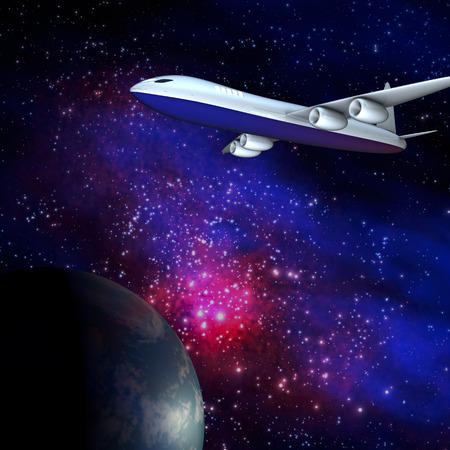 Galaxy airline for adv or others purpose use photo