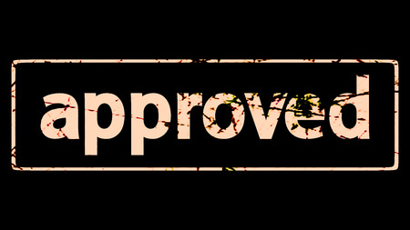 proved: timbro approvato per l'uso ai fini adv o altri Archivio Fotografico