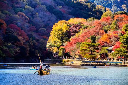 momiji: Kyoto, Japan - Nov 26, 2013 : red japanese maple autumn fall , momiji tree in kyoto japan