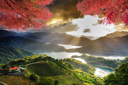 Image of beatiful landscape, Taiwan for adv or others purpose use
