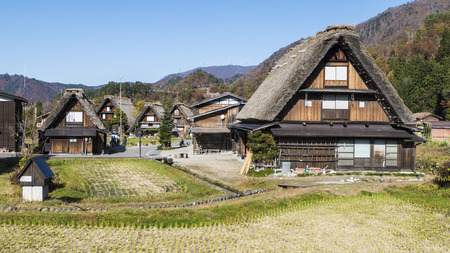 The Historic Villages of Shirakawa-gand Gokayama for adv or others purpose use