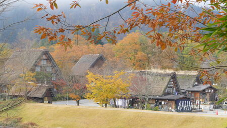 ogimachi: The Historic Villages of Shirakawa-gand Gokayama for adv or others purpose use