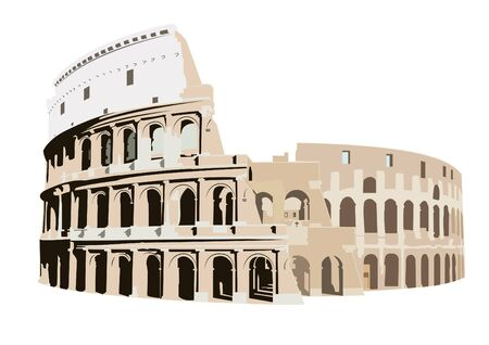 colliseum: The Colosseum in Rome, Italy