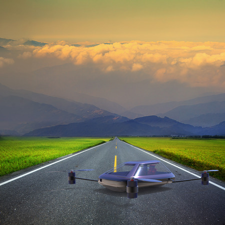 manned: The most advanced four-axis manned vehicles powered by elec