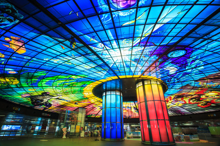 The Dome of Light at Formosa Boulevard Station Editorial