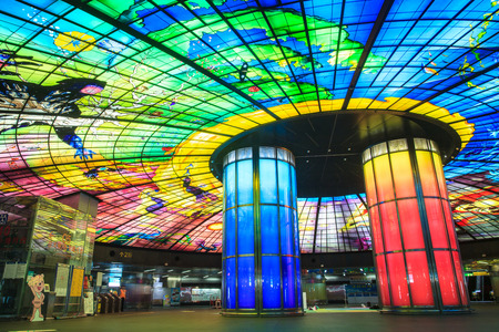 boulevard: The Dome of Light at Formosa Boulevard Station Editorial