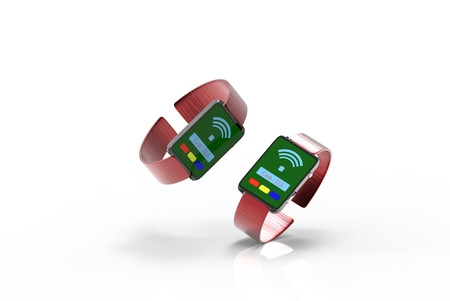 nfc: The Fashion two watch with payment NFC function