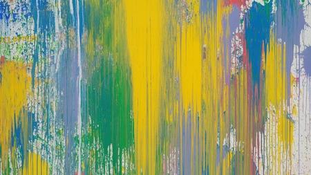 La pintura al óleo dibujada a mano, fondo de arte abstracto