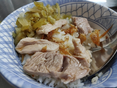 The Very delicious turkey pilaf, Chiayi, Taiwan