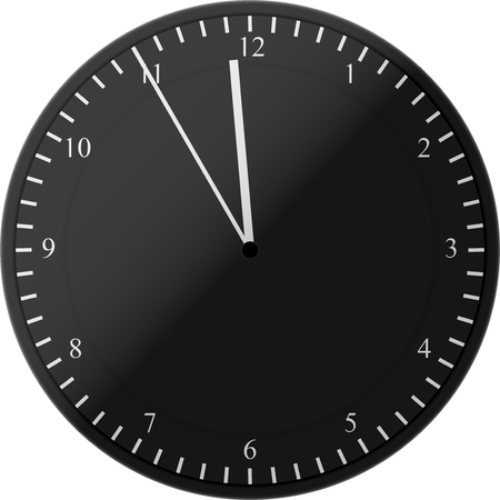 The Clock Icon with with EPS 10 design