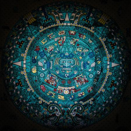 Mayan calendar Banco de Imagens - 27750969