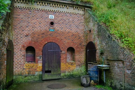 latrina: guerra latrina Archivio Fotografico