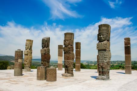 Toltec sculptures