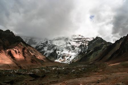 aconcagua: The highest mountain in South America, Aconcagua, Mendoza, Argentina