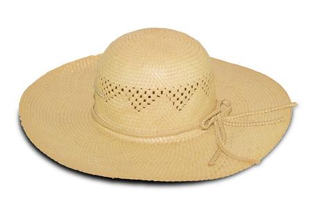 dressy: Hat isolated on white background
