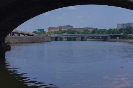 Philadelphia River Zdjęcie Seryjne