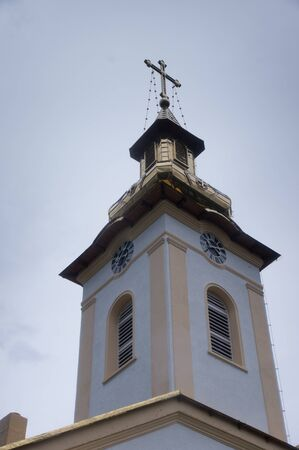 southeast europe: Golden Rooftop Church of Orsova