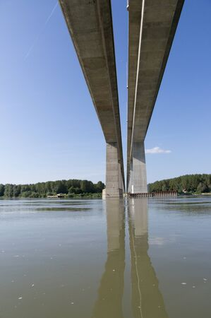 southeast europe: Brand New Bridge in Serbia