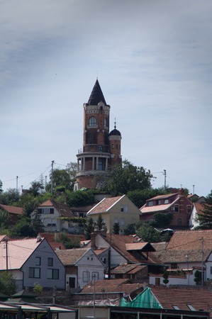 southeast europe: Gardos Tower and the old Town of Belgrad