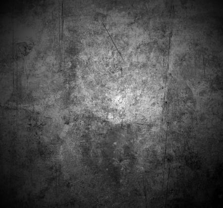 textures: alten zerkratzten Metall Textur mit schattigen Rändern Lizenzfreie Bilder