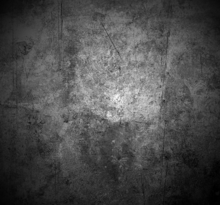 metal textures: old scratched metal texture with shaded edges