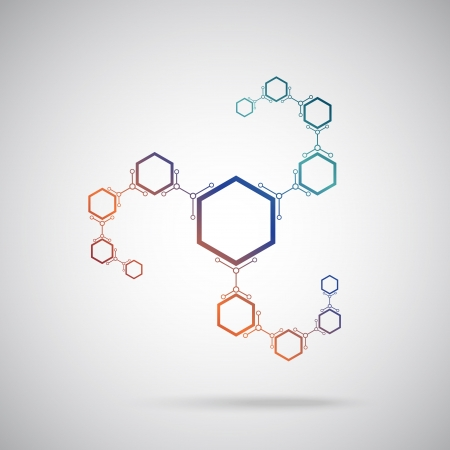 mediateur: connect�s cellules color�es