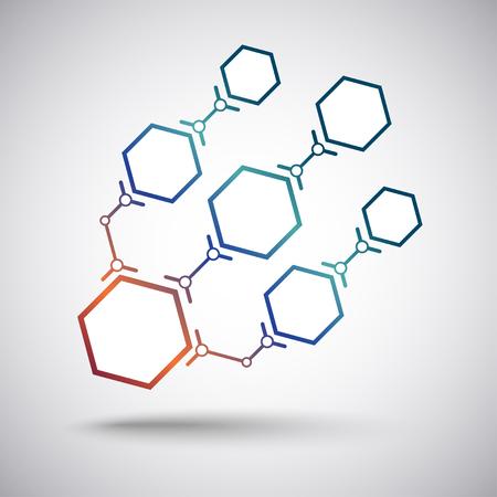 mediateur: Cha�ne de sept cellules de taille variable Le concept de connexions utilisateur Illustration