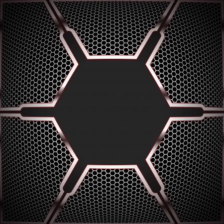cell on technological background textures. vector graphics