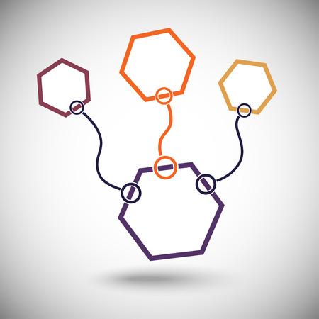 Connectez cellules. L'un des composés importants mis en évidence dans l'orange.