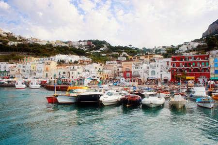 capri: Boat on Capri island #2