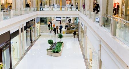 mall interior: Shopping hall #3. Panorama