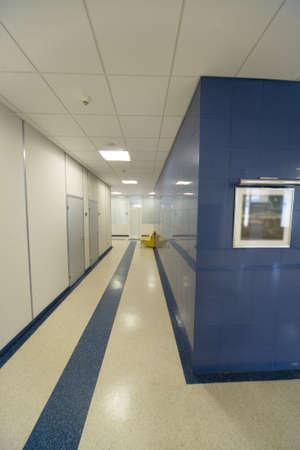 Office building interior: corridor Stock Photo - 2318839