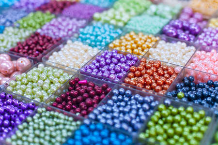 sunday market: Perlas en los cuadros de un tailand�s el domingo mercado Chatuchak. Bangkok. Tailandia